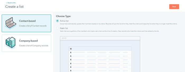 Gebruik HubSpot lijsten om leads te segmenteren   Inbnd