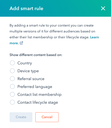 Content smart maken in HubSpot | Inbnd