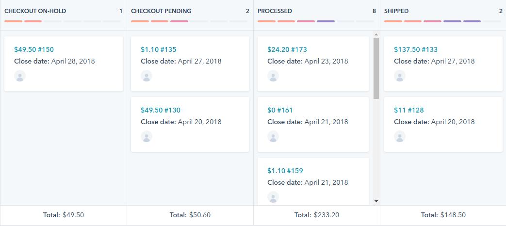 Sales pipeline in HubSpot - Inbnd
